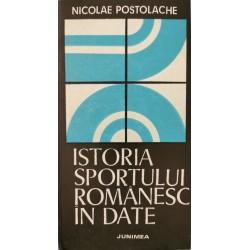 Istoria sportului romanesc in date - Nicolae Postolache
