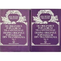 De originibus populorum Transylvaniae / Despre originile popoarelor din Transilvania (Vol. 1 + 2) - Ion Budai-Deleanu