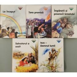 Biblia pentru copii (Vol. 1 - 5) - Penny Frank