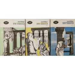Arta oratorica (Vol. 1 + 2 + 3) - Quintilian