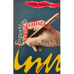 Expertiza criminalistica a scrisului - Lucian Ionescu