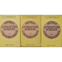 Istoria literaturii romane contemporane (Vol. 1, 2, 3) - E. Lovinescu