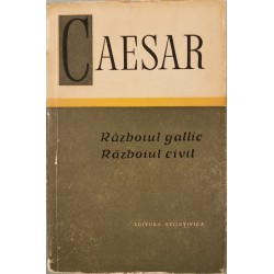 Razboiul gallic, Razboiul civil - Caesar