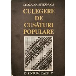 Culegere de cusaturi populare - Leocadia Stefanuca
