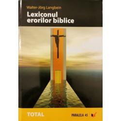 Lexiconul erorilor biblice - Walter-Jorg Langbein