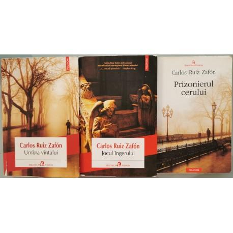 Tetralogia Umbra Vantului (primele 3 vol.) - Carlos Ruiz Zafon