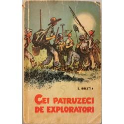 Cei patruzeci de exploratori - S. Golitin