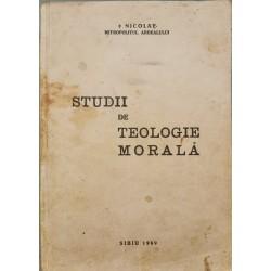 Studii de teologie morala - Nicolae Mladin, Mitropolitul Ardealului