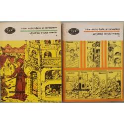 Intre antichitate si renastere, Gindirea evului mediu (Vol. 1 + 2)