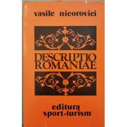 Descriptio Romaniae - Vasile Nicorovici
