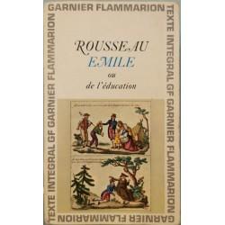 Emile ou de l'education - Jean-Jacques Rousseau