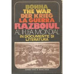 Raboiul al II-lea mondial in documente si literatura