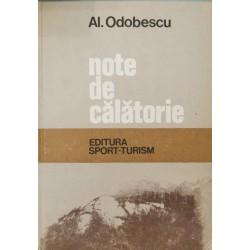 Note de calatorie - Al. Odobescu