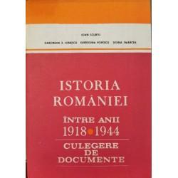 Istoria Romaniei intre anii 1918-1944. Culegere de documente - Conf. dr. Ioan Scurtu (coord.)