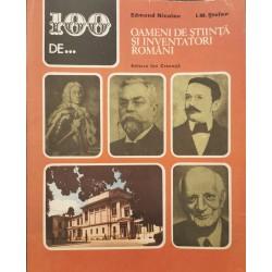100 de... Oameni de stiinta si inventatori romani - Edmond Nicolau, I. M. Stefan