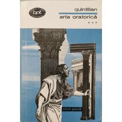 Arta oratorica (Vol. 3) - Quintilian