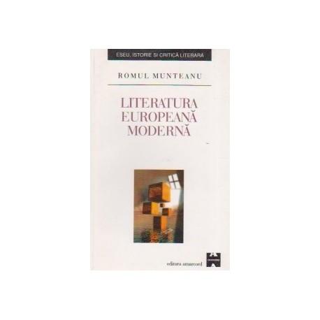 Literatura europeana moderna - Romul Munteanu