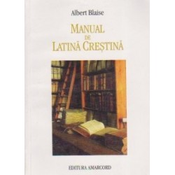 Manual de latina crestina - Albert Blaise