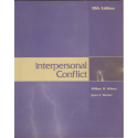 Interpersonal conflict - William Wilmot, Joice Hocker