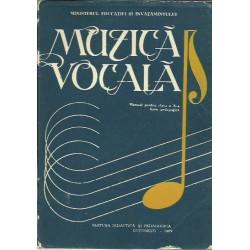 Muzica. Manual pentru clasa a 10-a, licee pedagogice