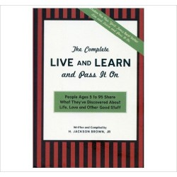 The Complete Live and Learn and Pass it On - Brown H. Jackson