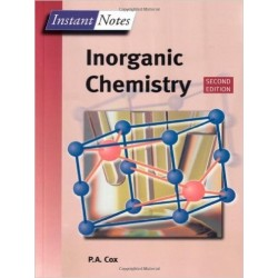 Inorganic Chemistry, Instant Notes series [Second Edition] - P. A. Cox