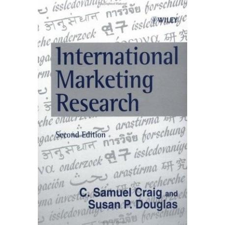 International Marketing Research [Second Edition] - C. Samuel Craig