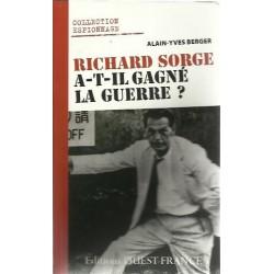 Richard Sorge A-t-il Gange la Guerre? - Alain-Yves Berger