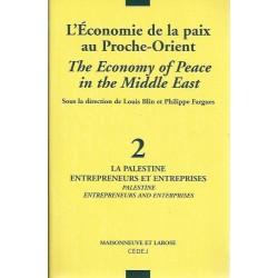 L'Economie de la paix au Proche-Orient - Louis Blin