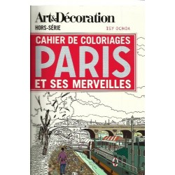 Cahier de coloriages Paris - Isy Ochoa