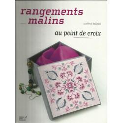 Rangements malins au point de croix - Martine Rigeade