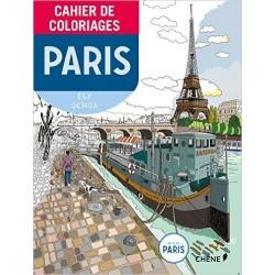 Cahier de coloriages Paris petit format - Isy Ochoa (Illustrations)