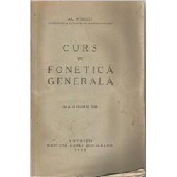 Curs de fonetica generala - Al. Rosetti (1930)
