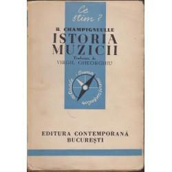 Istoria muzicii - Bernard Champigneulle (ed. 1942)