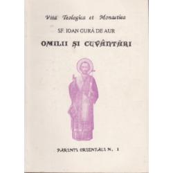 Sf Ioan Gura de Aur Omilii si cuvantari