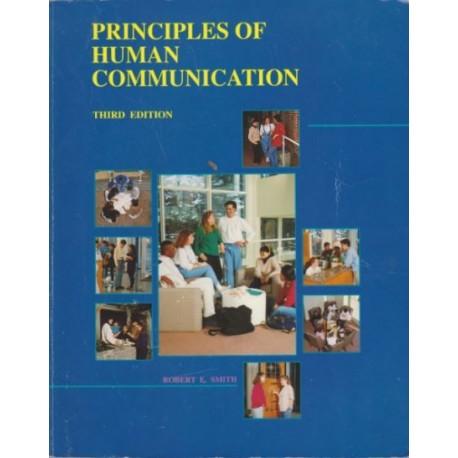 Principles of human communication - Robert E Smith