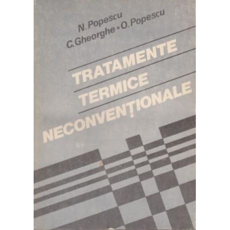 Tratamente termice neconventionale - N. Popescu, C. Gheorghe, O. Popescu