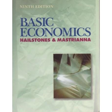 Basic Economics - Hailstones&Mastrianna