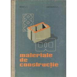 Materiale de constructie - Rosu C. I., Ghitulescu V.