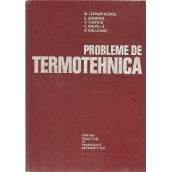 Probleme de termotehnica - N. Leonachescu