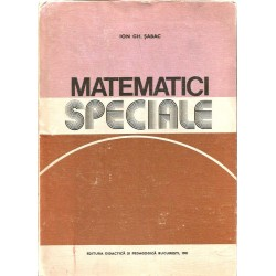 Matematici speciale (vol. 1) - Ion Gh. Sabac