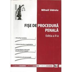 Fise de procedura penala - Mihai Udroiu