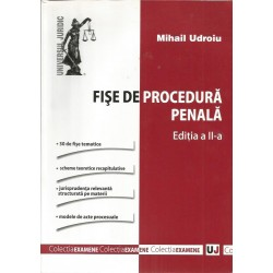 Fise de procedura penala (Editia a II-a) - Mihai Udroiu