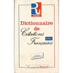 Dictionar de Citations Francaises (Tome 1)/Dictionar de citate in lb.franceza