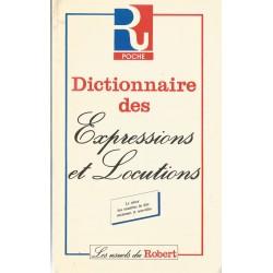 Dictionar des Expressions et Locutions/ Dictionar de expresii si locutiuni in lb. franceza