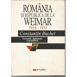 Romania si republica de la Weimar - Constantin Buchet