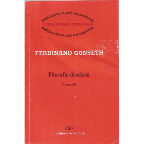 Filosofia Deschisa (vol. 2) - Ferdinand Gonseth