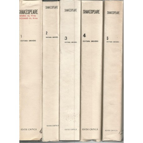 Shakespeare - Opere (Vol. 1, 2, 3, 4, 5)