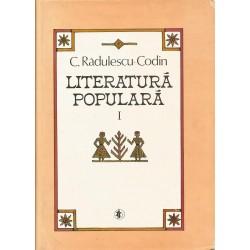 Literatura populara (vol. I, cartonata) - C. Radulescu-Codin
