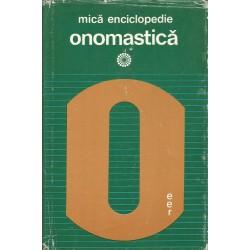 Mica enciclopedie onomastica - Christian Ionescu